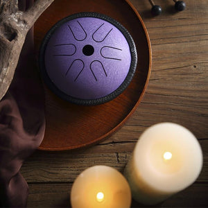 Vibration Healing Steel Tongue Drum
