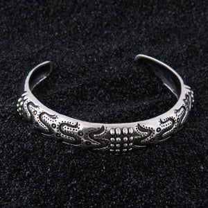 Norse inspired Stainless Steel ODIN'S DRAUPNIR  bangle