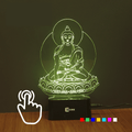 Relaxing Buddha LED Lamp-Touch Changeable 7 Colors!