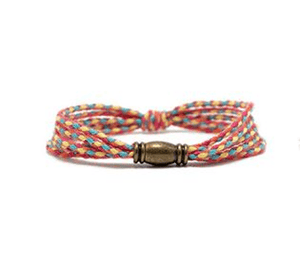 Ethnic Tibetan Copper & Cotton Rope Bracelet-Buy 2 , Get a 3rd FREE!