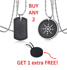 BOOST YOUR WELL-BEING & enjoy EMF Protection from Mobiles & Computers with a Scalar QUANTUM NEGATIVE ION Pendant