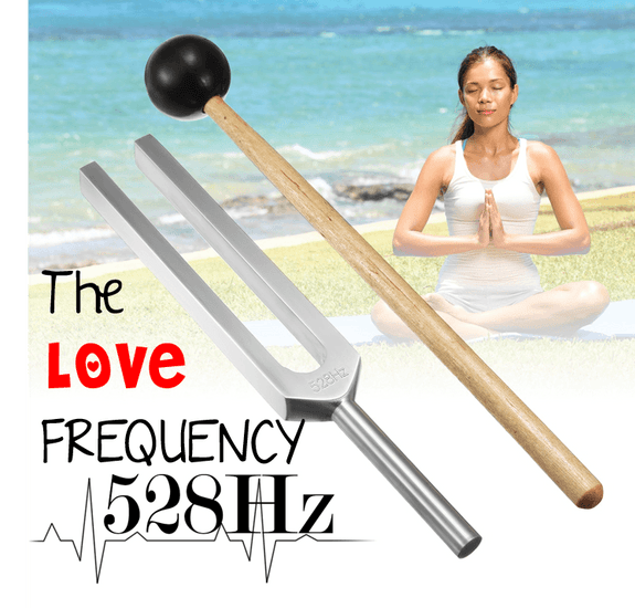 Get in tune with the 'The LOVE FREQUENCY' Vibration 528hz- Kit