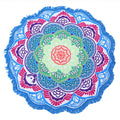 Lotus Design Mandala Tapestry-7 Glorious Color Blends