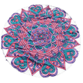 New! Round Mandala Beach Yoga Tapestry
