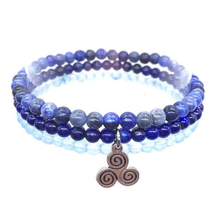 DIVINE COMMUNICATION-Lapis,Sodalite & Celestine- 3/pc