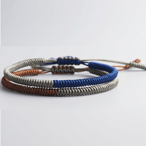 Need ENERGY ? SET-2 /pc Tibetan  Handmade Lucky Knot Bracelets