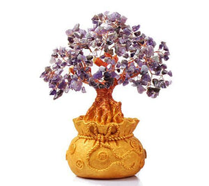 Try an AMETHYST  FENG SHUI TREE for CALM & HEALING-3 sizes