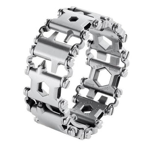 Stainless Steel 29-IN-1 Multifunctional TOOLBOX Bracelet