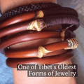 TIBETAN Caulis Spatholobi Vine-Hand Made NATURAL HEALTH GIVING BANGLE