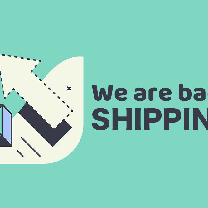 Service recovered! We are shipping as usual now.