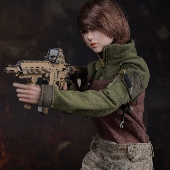 1/6 Clothes (Female Military)