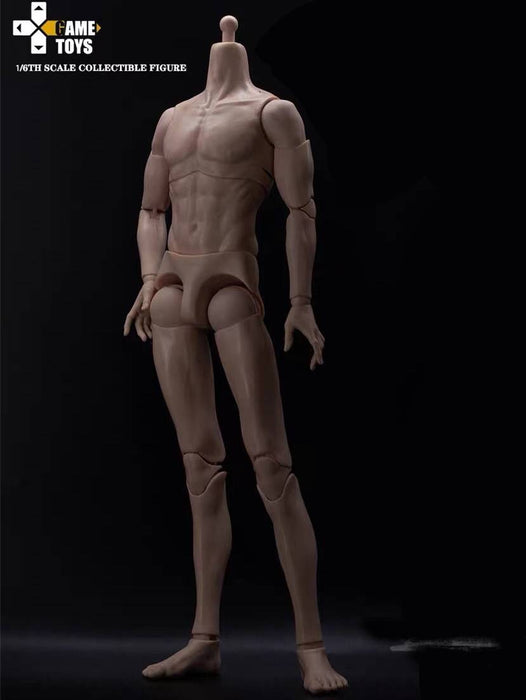 Pre-order 1/6 GAMTOYS GTBD-001 Male Body Regular Skin Tone