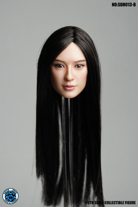 In-stock 1/6 Scale SUPER DUCK SDH013 Female Head H#Suntan