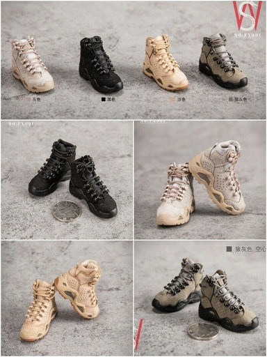 NEW ZYTOYS Midbarrel hollow soleless boots for ladies 1//6 action figure boots