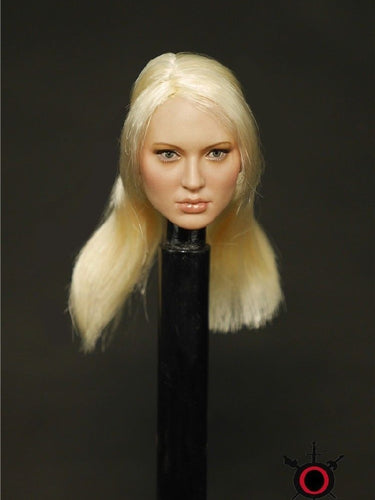 So-toys SO-05 1/6 Scale Female Head Sculpt Doll Blond Hair