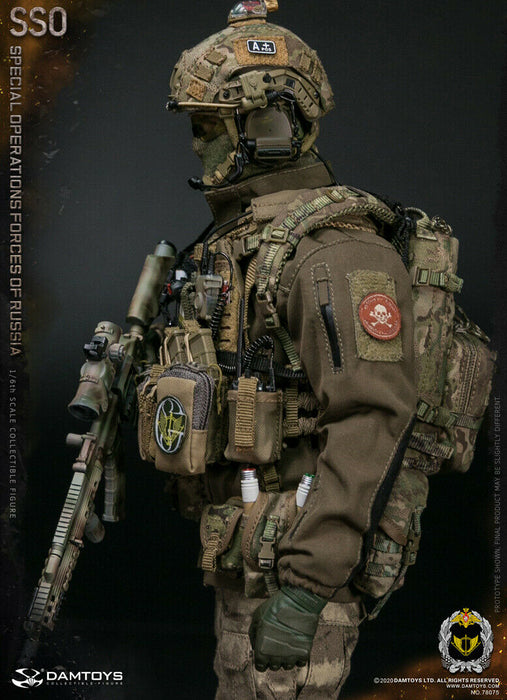 Pre-order 1/6 Scale DAMTOYS 78075 SSO  SPECIALOPERATIONS FORCES OF RUSSIA