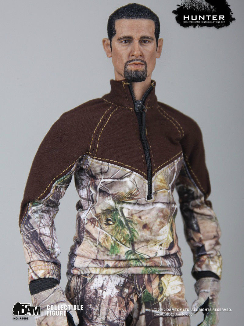 In-Stock 1/6 Scale DAMTOYS DAM RT003 Male 12in Figure Military CAMO Clothes Set
