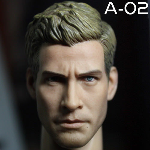1/6 Scale Male Head Sculpt Jake Gyllenhaal Onesixth