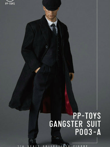 In-stock 1/6 PP-TOYS P003 Gangster WWII British Vintage Suit For 12'' Figure