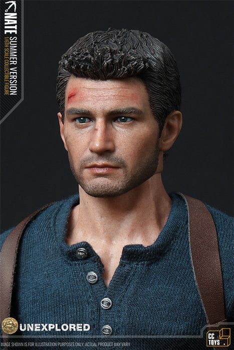In-Stock 1/6 Scale CCTOYS UNEXPLORED Nate Unexplored Game Character Great Adventurer 12in Action Figure