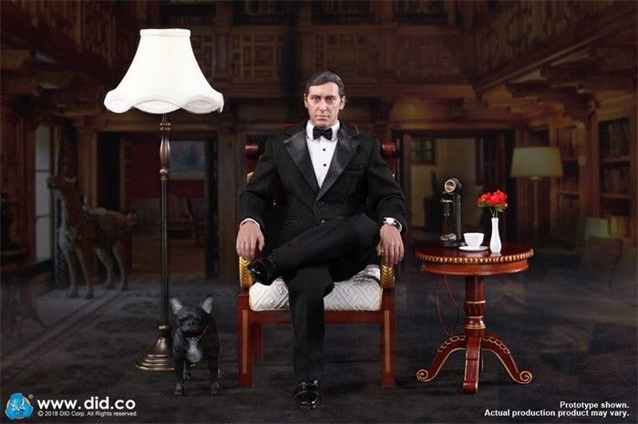 In-Stock 1/6 Scale DID Chicago 3 Al Pacino T80128 & T80128S Action Figure