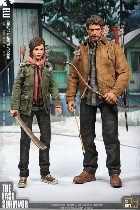 "In-stock 1/6 CCTOYS THE LAST SURVIVOR ""JOE&ELLI"" Set"