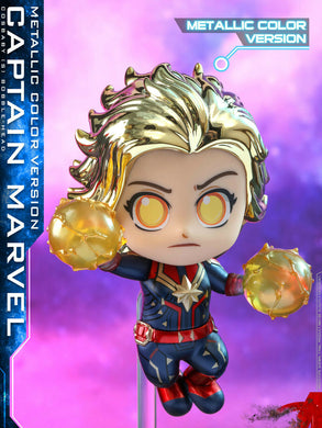 Pre-order HOTTOYS HT COSB591  COSBABY Metalic Color Captain Marvel