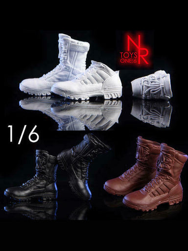 """AS003 1//6 Soldier Shoes Arnold terminator Boots for 12/""""Phicen Male body Figure"""