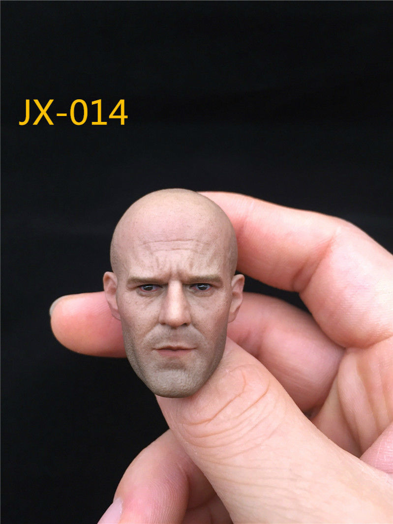 1/6 Scale JXTOYS-014 Jason Statham Head Sculpt