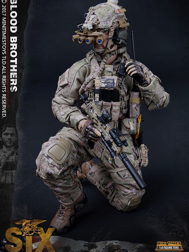1/6 Mini Times Toys M010 Blood Brothers US Navy Seal 6