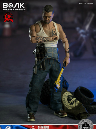 In-stock 1/6 WorldBox Motor Mechanic Action Figure AT031
