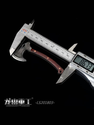 In-stock 1/6 Longshan LS201803 Stainless Steel Tactical Axe (8.6cm)