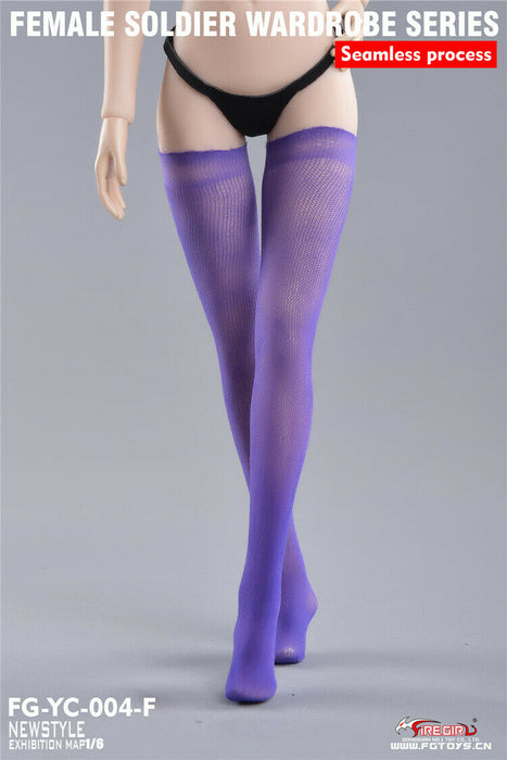 In-stock 1/6 Fire Girl FG-YC-004 Stockings Seamless For TBleague