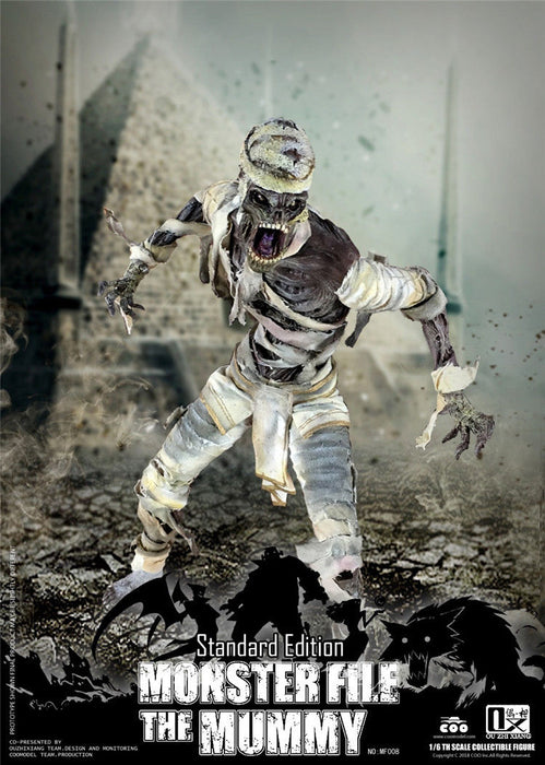 In-stock COOMODEL X OUZHIXIANG MF008 MONSTER FILE SERIES - MUMMY STANDARD Ver.