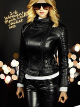 MCTOYS F-062 1/6 Figure Accessories Women's Black Leather Jacket sets