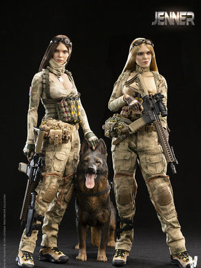 Pre-order 1/6 Scale VERYCOOL VCF-2037 A-TACS FG Double Women Soldier - JENNER