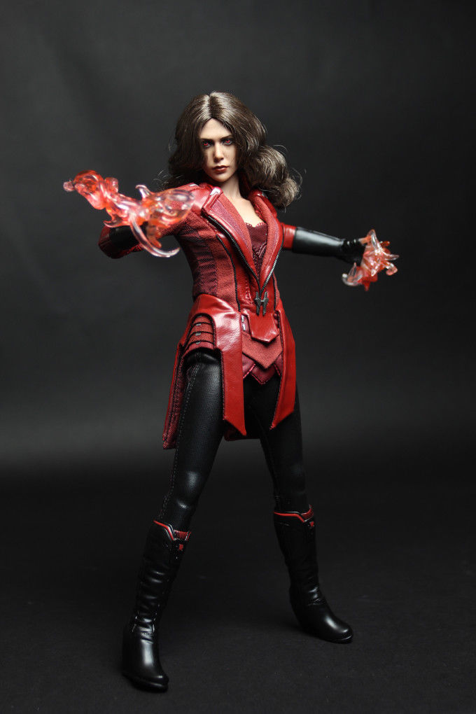 In-Stock  CGL TOYS 1/6 Scale  Custom Kit For Scarlet Witch 12in Action Figure