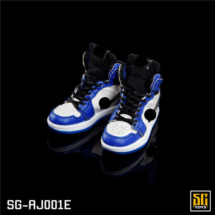 In-stock 1/6 SGTOYS Basketball Shoes Hollow Accessories Footwear For Toy Figure