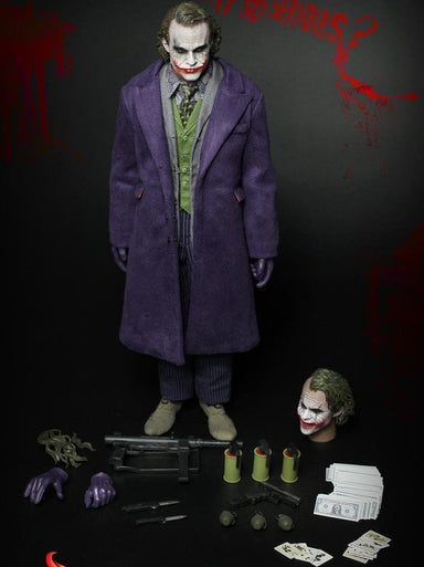 In-stock Fire A001 1/6 Joker Heath Ledger The Dark Knight The Dark Knight Full Figure