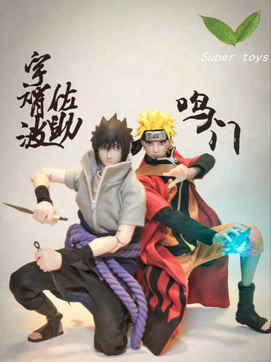 In-stock 1/6 Scale  Fire Shadow Ninja Naruto & Ninja Sasuke Set