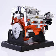 1/6 Scale Chevrolet Corvette Engine Model Toy V8 Engine Toy Scene Accessory