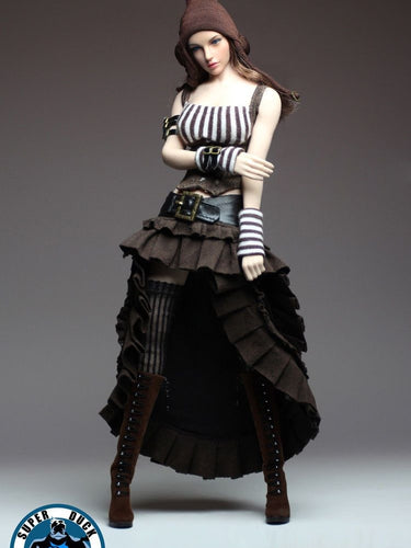 In-Stock Super Duck 1/6 Scale C020 Steam Punk Female