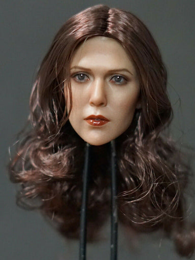 In-Stock CGL TOYS 1/6 Scarlet Witch Head Sculpt (#suntan)