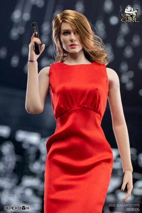 In-stock 1/6 BLACKBOX 007 Spectre Girl Custom Kit