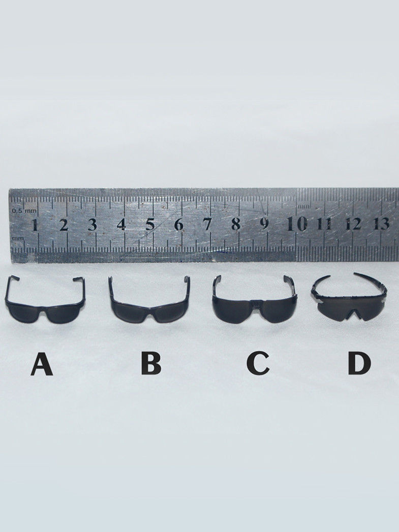 1/6 Scale Shades sunglasses glasses 4 PC Set For one-sixth figure ZY15-20