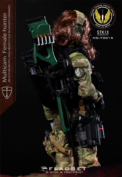 In-Stock 1/6 Scale FLAGSET FS-73015 MC War Angel - Angela 12in Action Figure