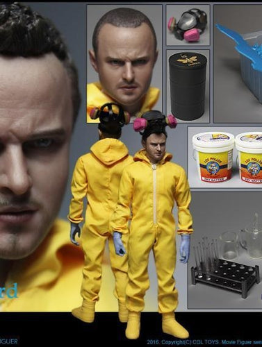 Pre-order CGLTOYS MF-07Jesse Pinkman 1/6 Breaking Bad Biozard Boy 12'' action figure Luxury Pack of accessories