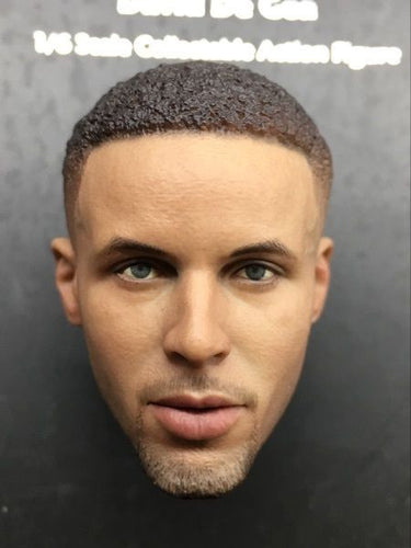 1/6 Stephen Curry head sculpt Basketball star not is EB Suitable for HT