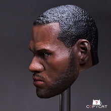1/6 Head Sculpt For LeBrown James Copycat Rage Ver. With Band