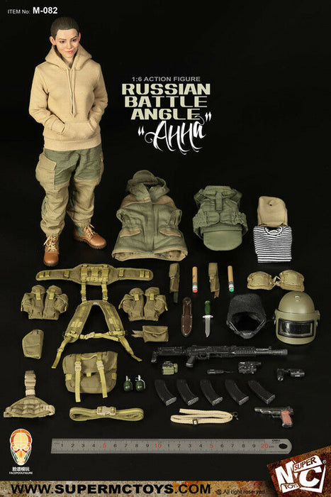 In-stock 1/6 Scale SUPERMC TOYS X FACEPOOL M-082 Анна Anna Action Figure